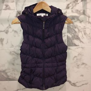 Kenneth Cole deep purple vest
